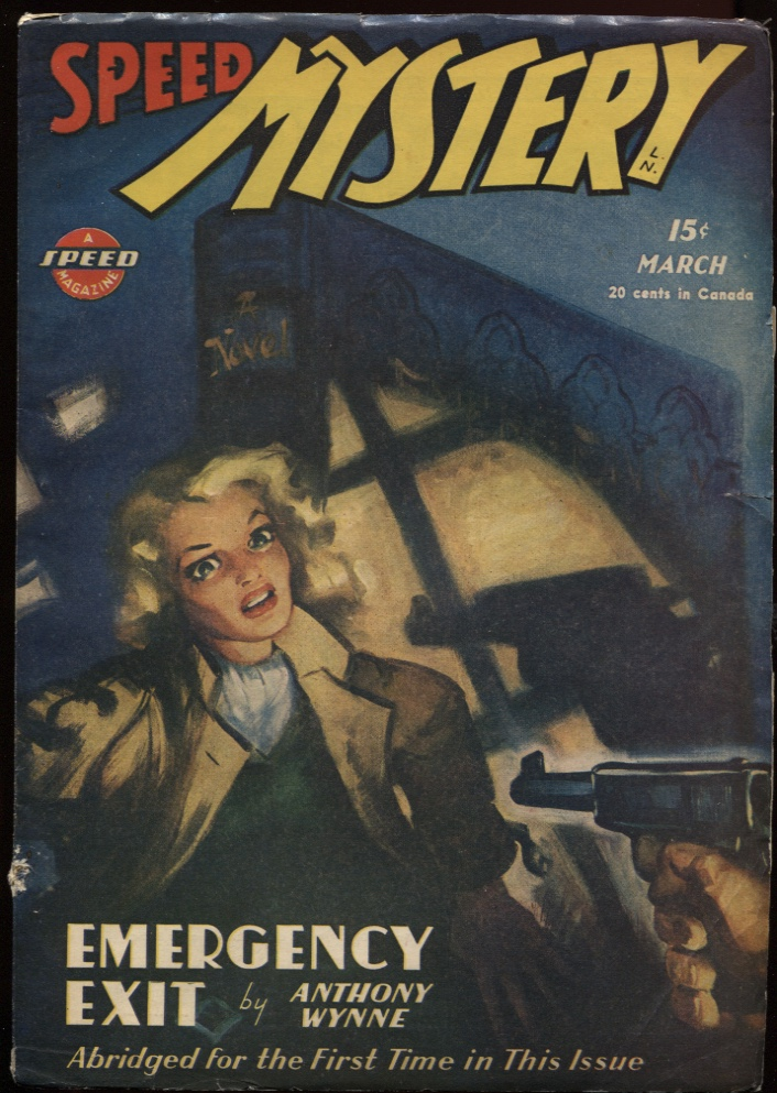 Image for Speed (Spicy) Mystery Stories 1946 March.