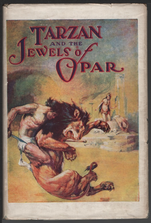 Image for Tarzan and the Jewels of Opar.