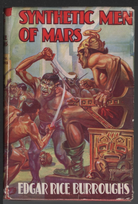 Image for Synthetic Men of Mars
