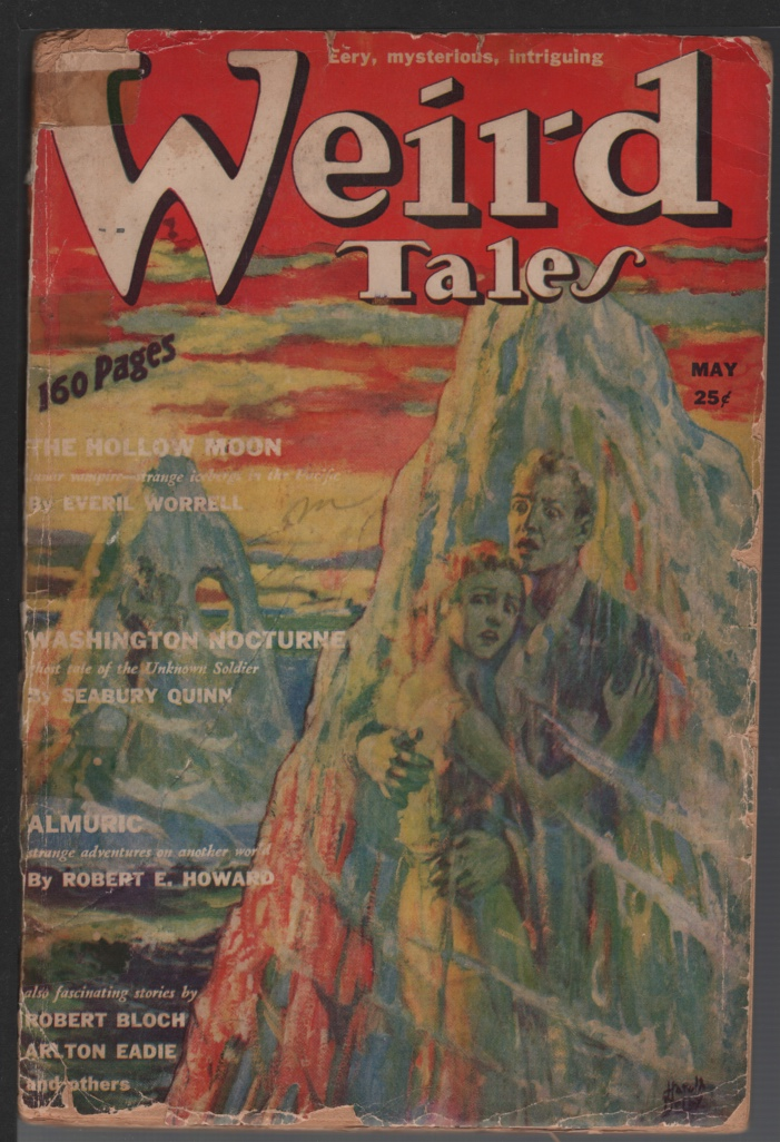 Image for Weird Tales 1939 May. Almuric Part 1