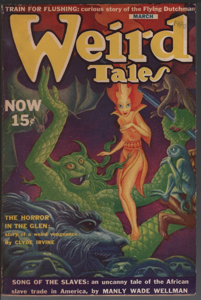 Image for Weird Tales 1940 March.