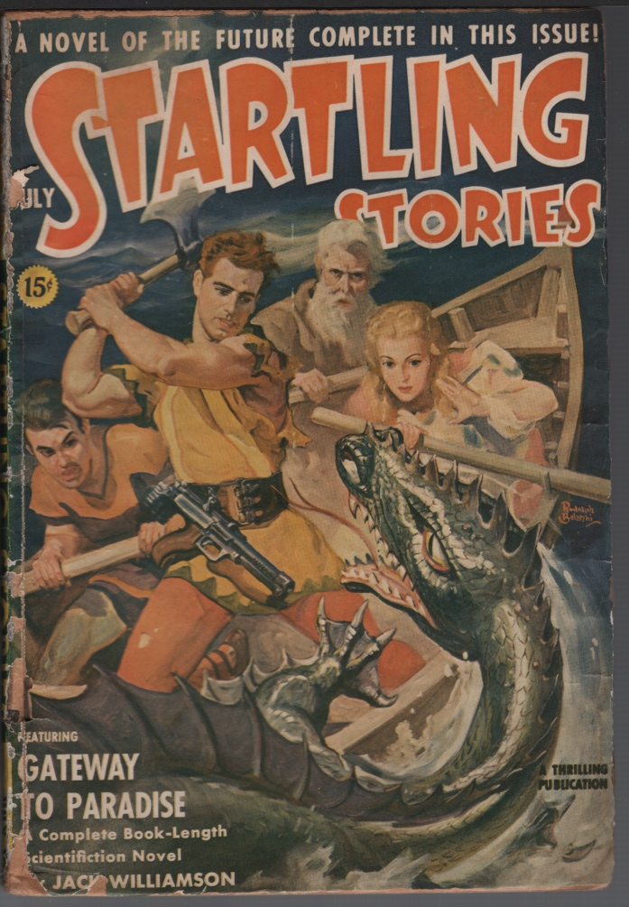 Image for Startling Stories 1941 July. Contains Gateway to Paradise