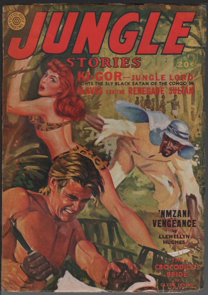 Image for Jungle Stories 1942 Spring.