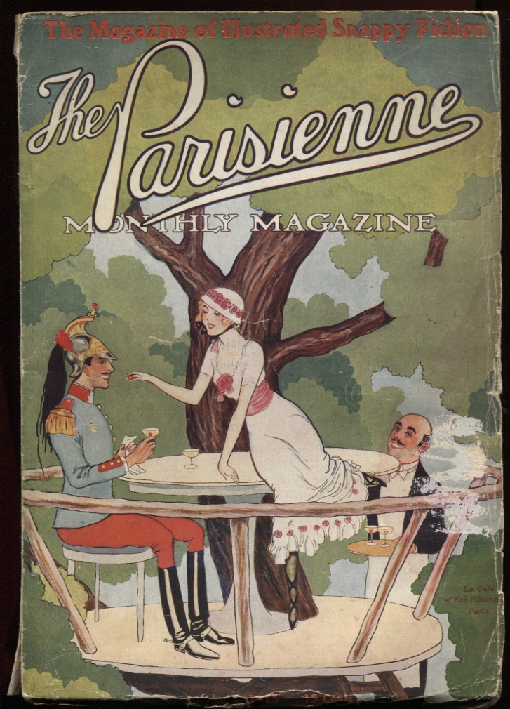 Image for Parisienne Monthly Magazine November 1915, #5.