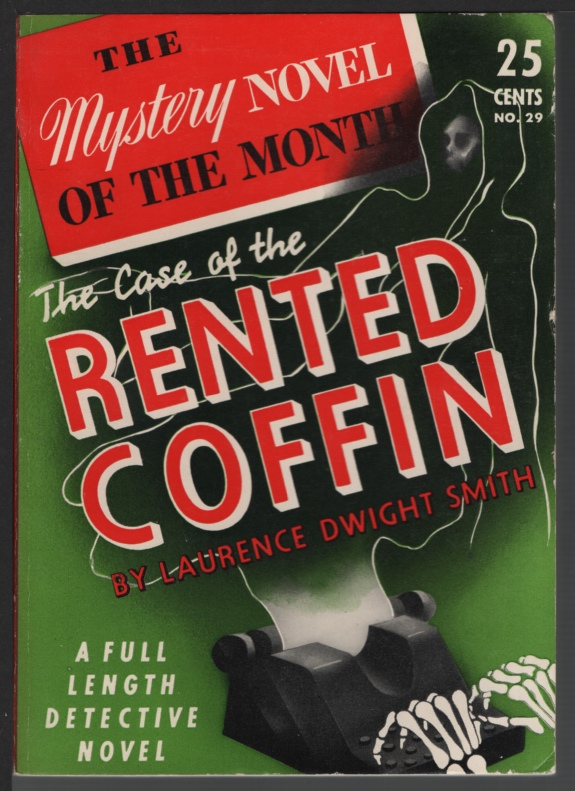 Image for The Case of the Rented Coffin, Mystery Novel of the Month #29