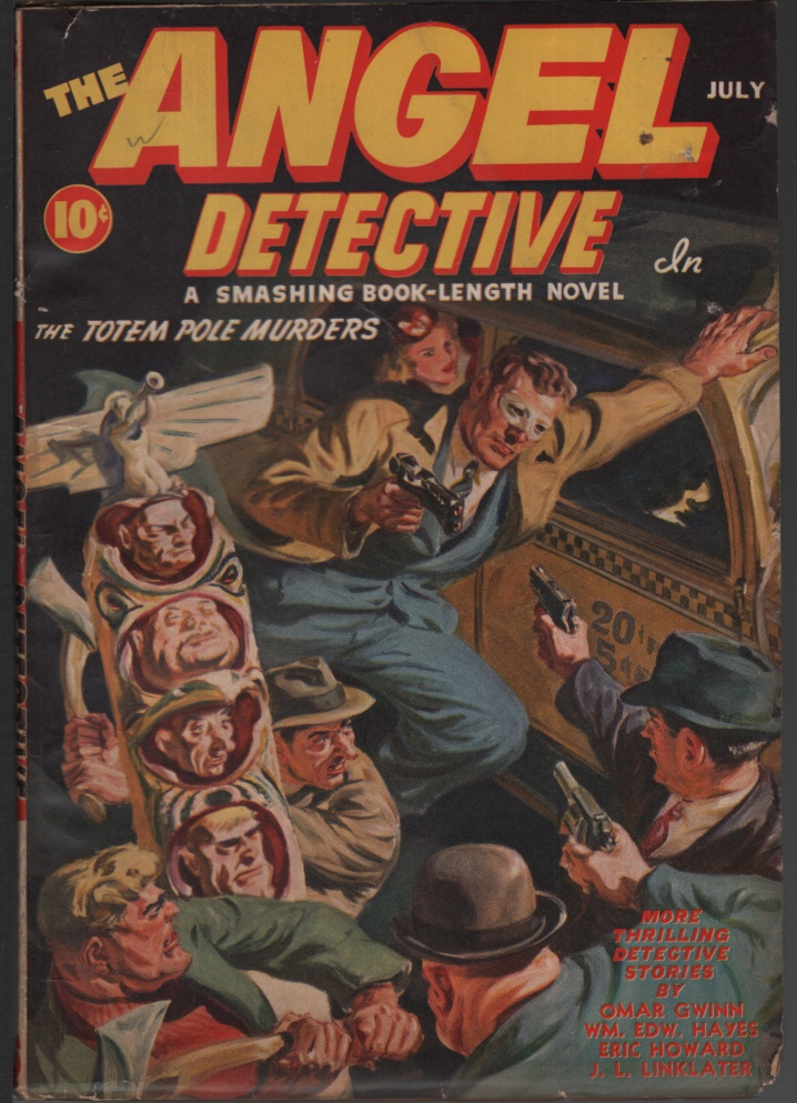 Image for Angel Detective1941 July, #1.