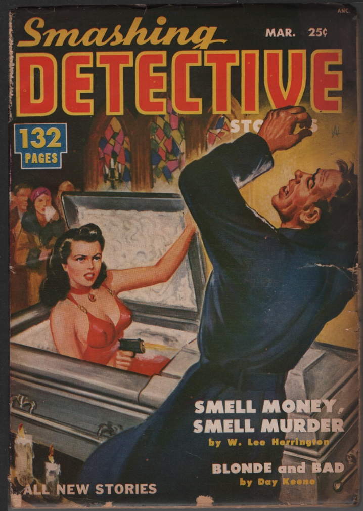 Image for Smashing Detective1951 March, #1.
