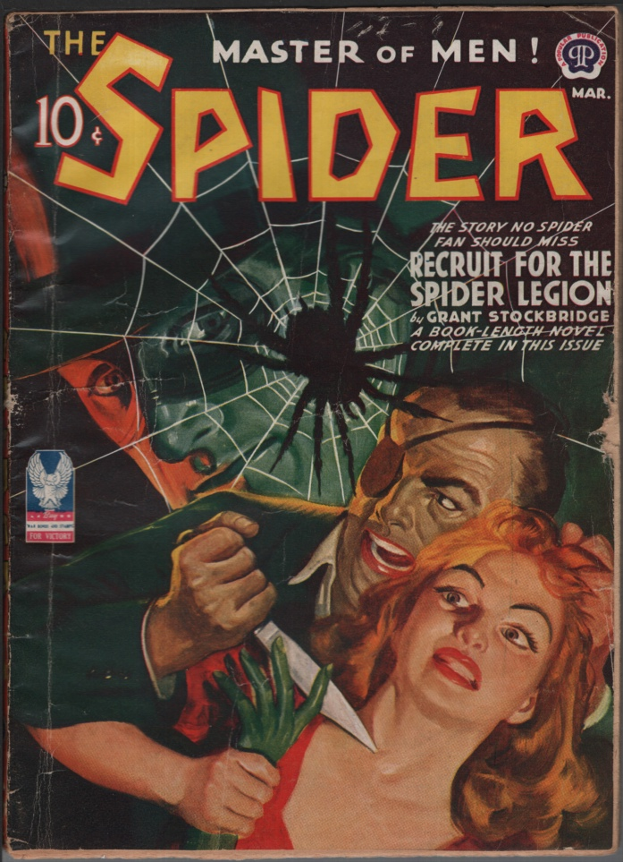 Image for Spider, 1943 March.
