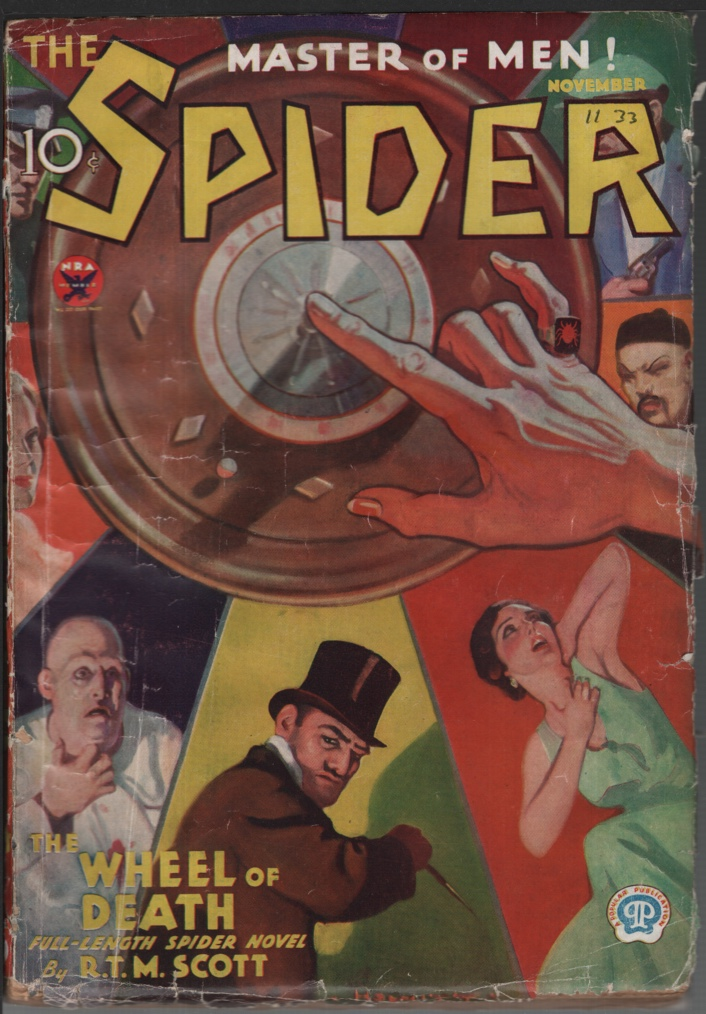 Image for Spider 1933 November, #2.