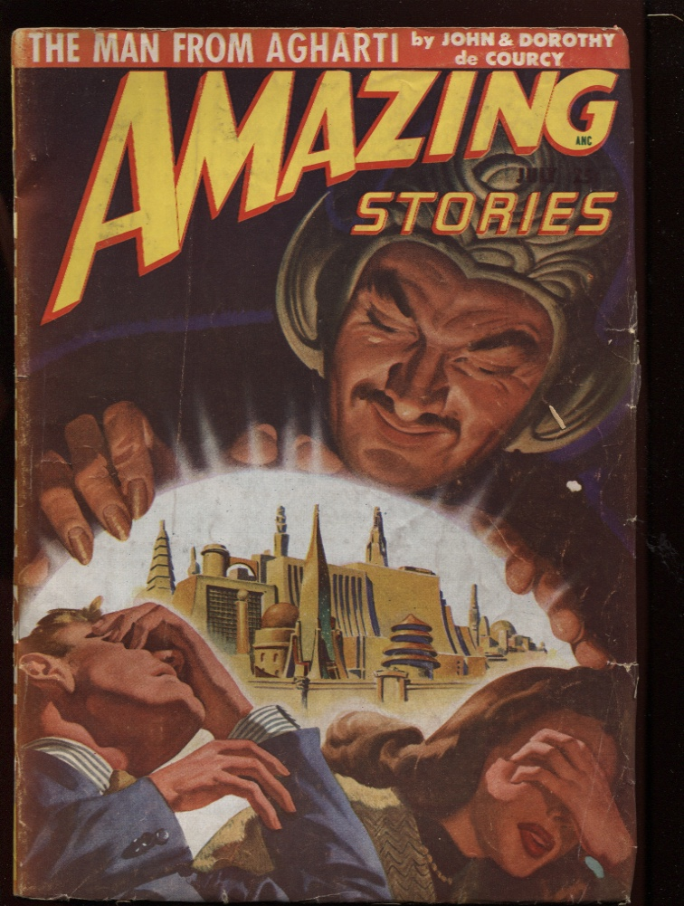 Image for Amazing Stories 1948 July.