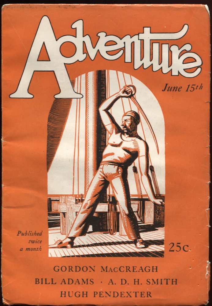 Image for Adventure June 15 1927.