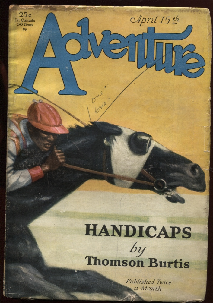Image for Adventure April 15 1929.