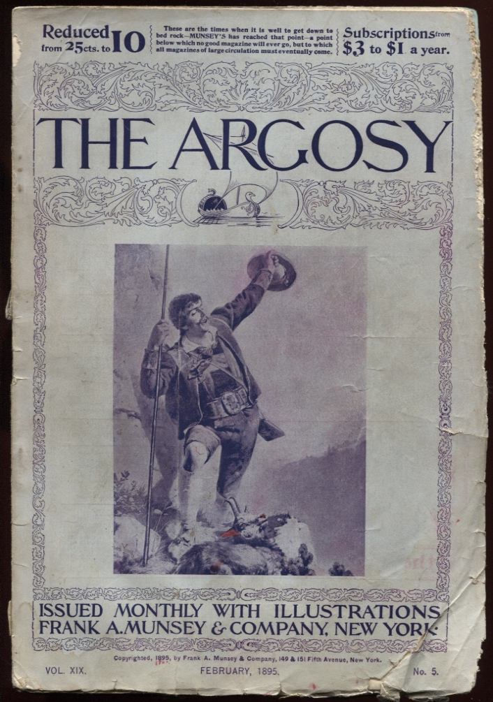 Image for Argosy, The. February 1895.