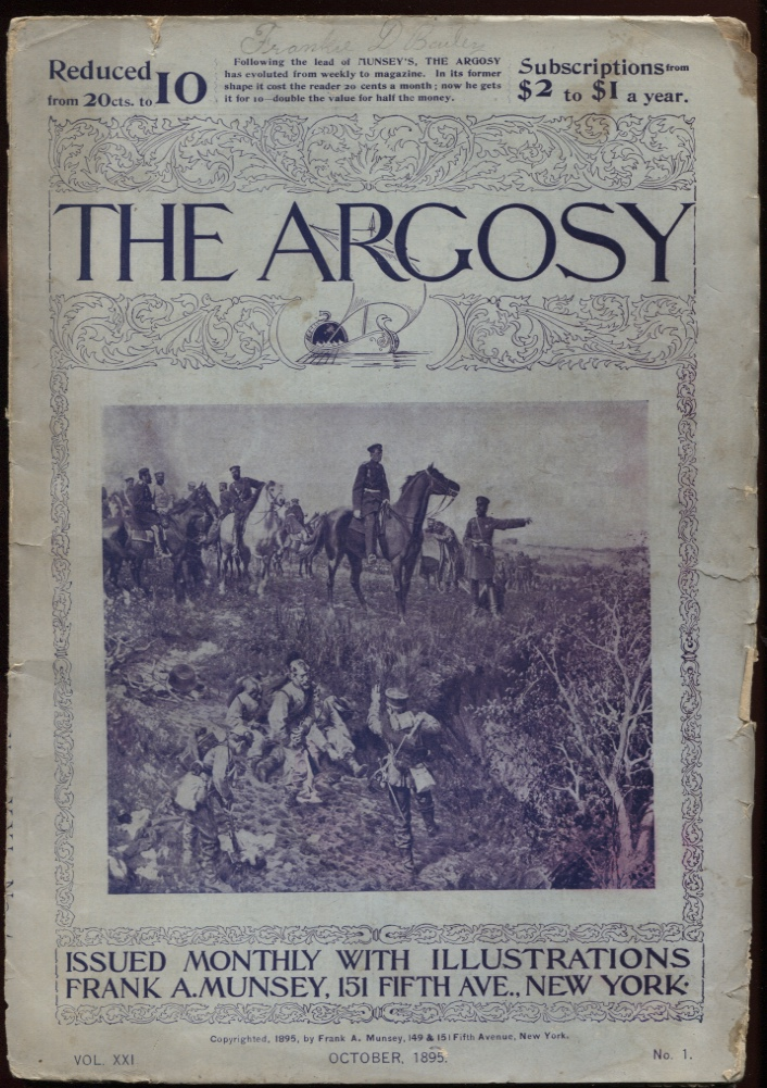 Image for Argosy, The. October 1895.