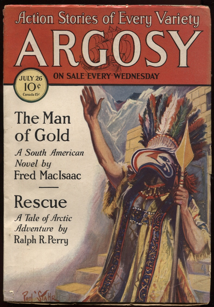 "Image for Argosy, The. (1930-07-26) July 26 1930. ""The Czarina's Pearls"" ""First Law"""