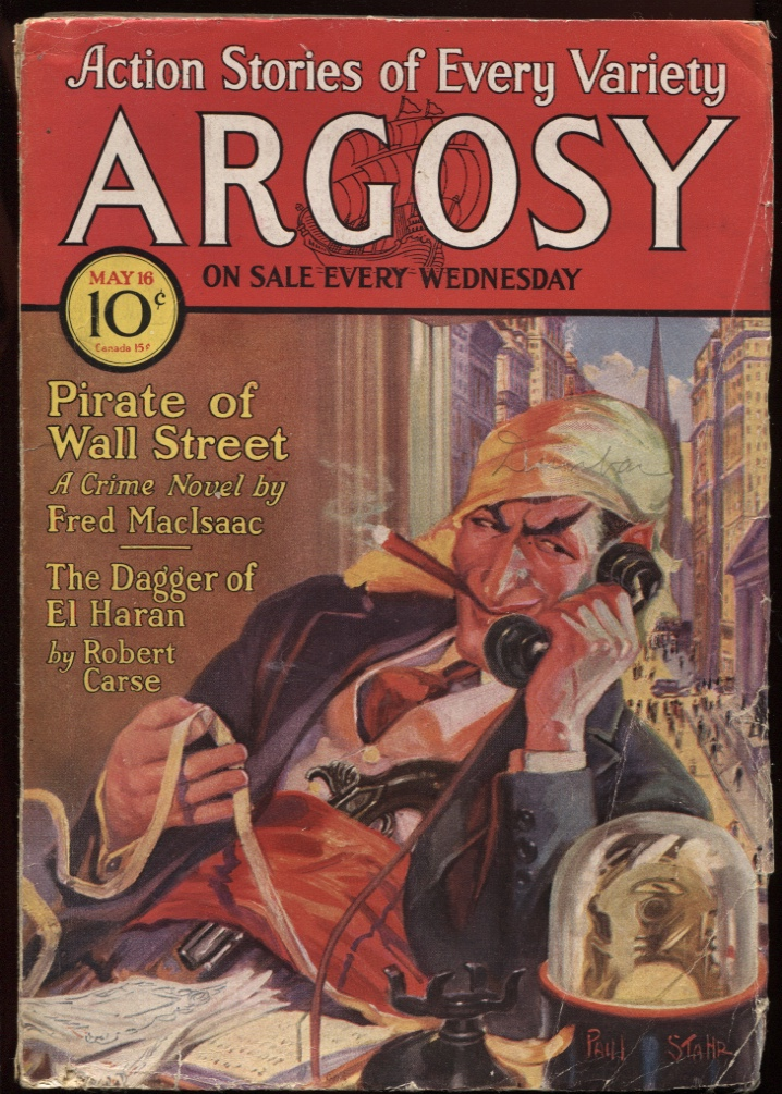 "Image for Argosy, The. (1931-05-16) May 16 1931. ""Jan of the Jungle"""