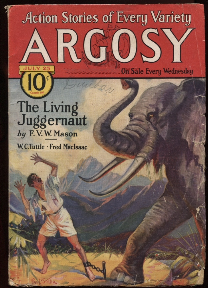 Image for Argosy, The. (1931-07-25) July 25 1931.