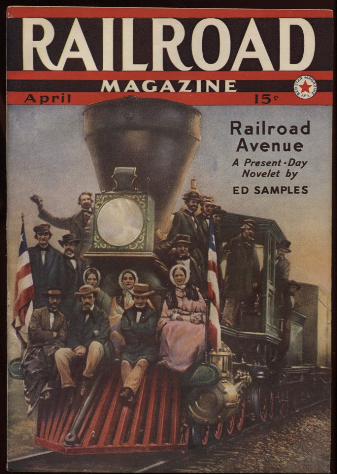 Image for Railroad Magazine 1940, March. a Drink for the Iron Horse.