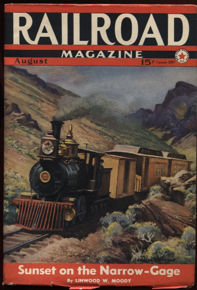 Image for Railroad Magazine 1941, August