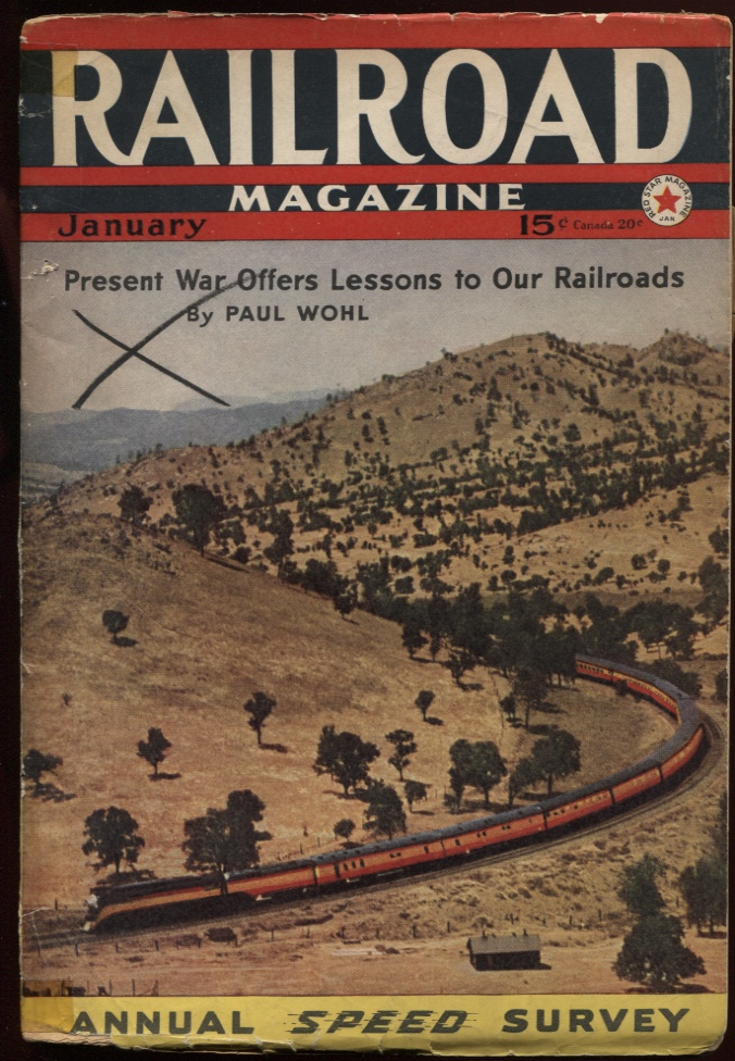 Image for Railroad Magazine 1942, January