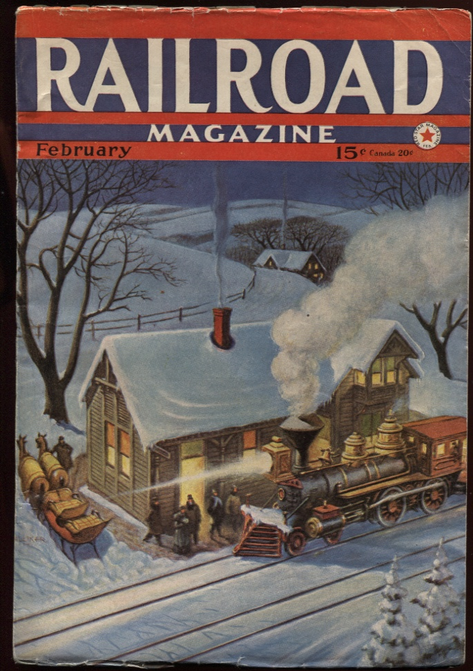 Image for Railroad Magazine 1942, February.