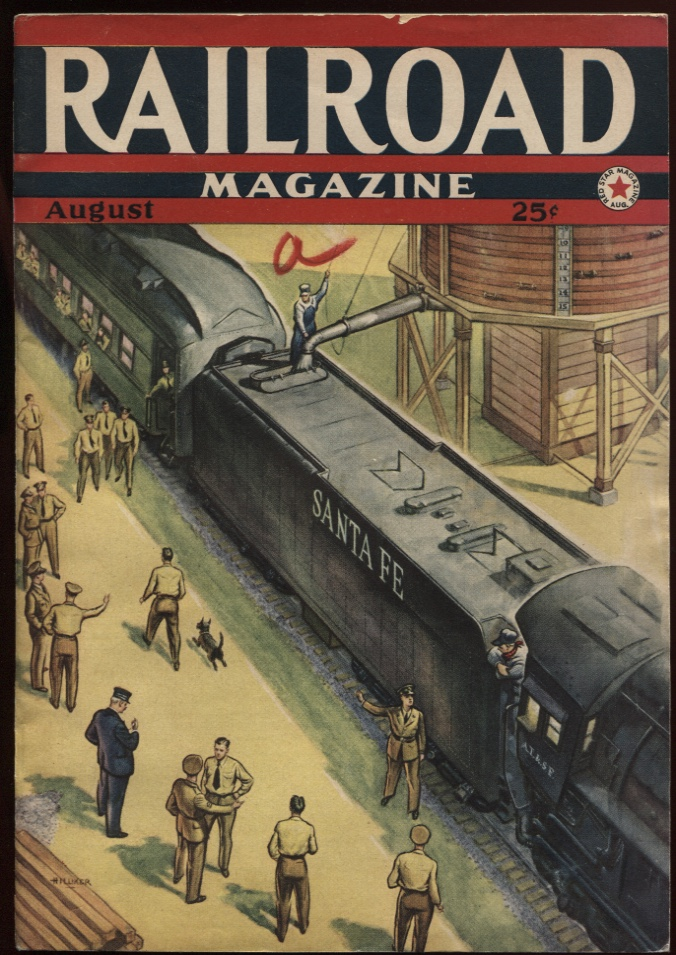 Image for Railroad Magazine 1942, August