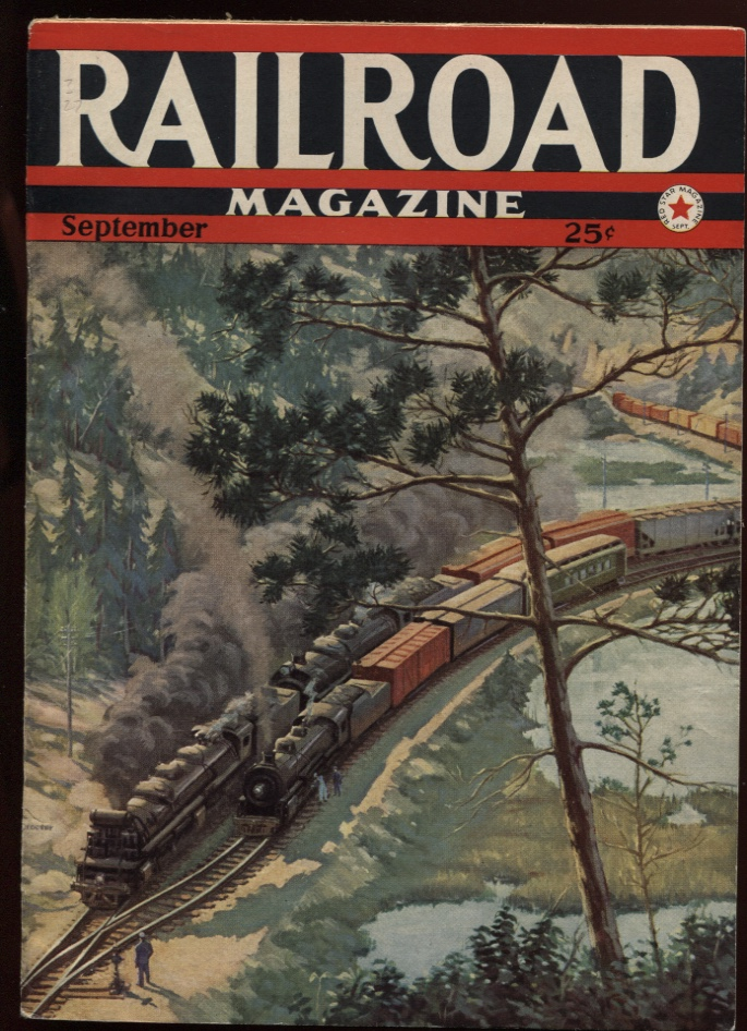Image for Railroad Magazine 1942, September