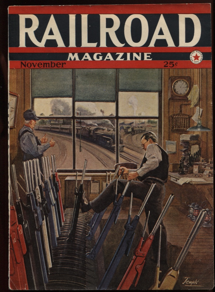 Image for Railroad Magazine 1942, November