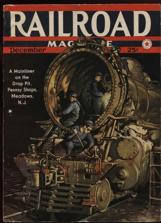 Image for Railroad Magazine 1942, December