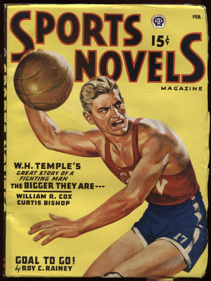 Image for Sports Novels Magazine1947 February. Basketball Cover.