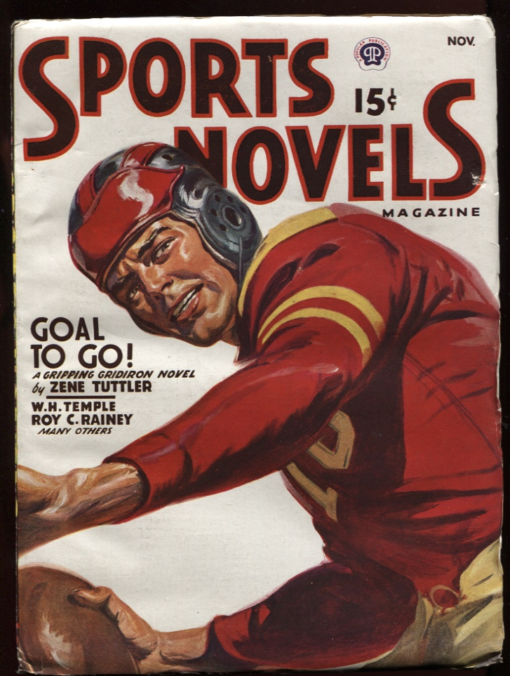 Image for Sports Novels Magazine1947 November. Leatherhead Football Cover.