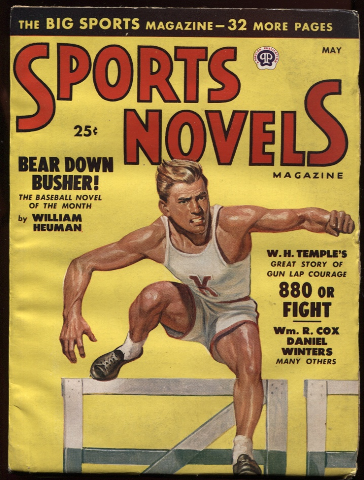 Image for Sports Novels Magazine1948 May. Track Cover.