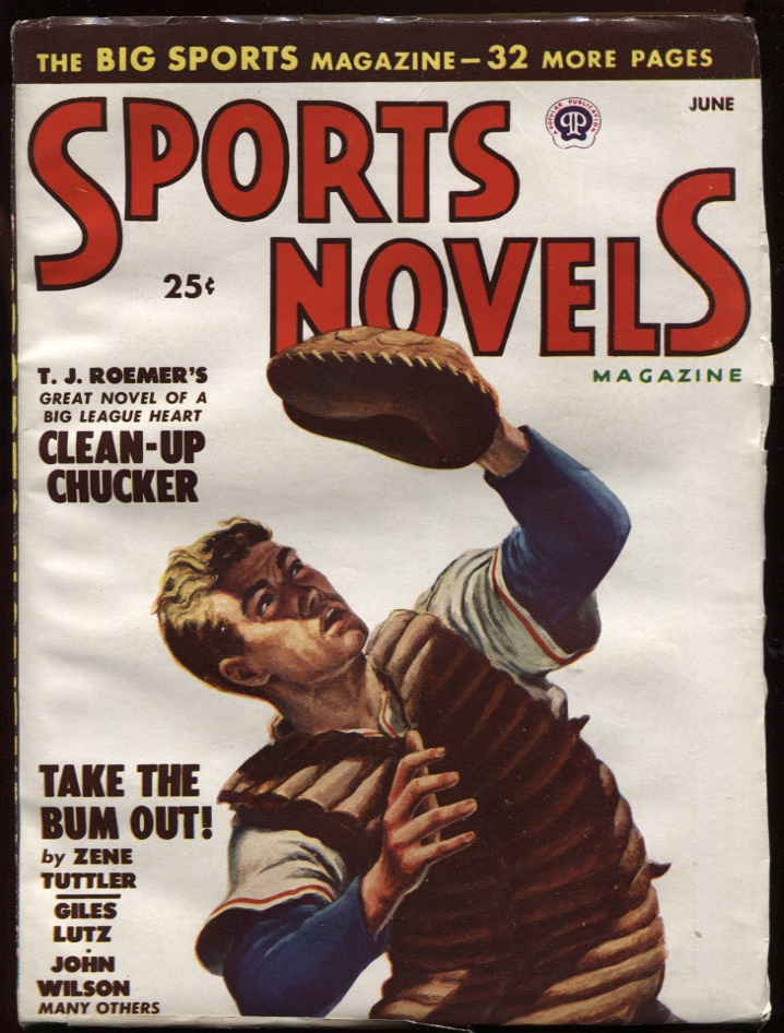 Image for Sports Novels Magazine1948 June. Baseball Cover.